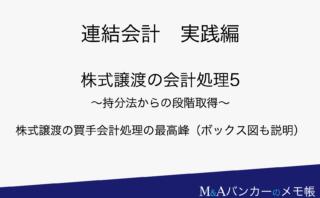 連結会計実践編 / 株式譲渡の会計処理4 〜持分法の基本〜 | M&A ...